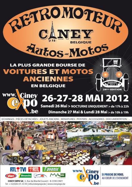 26-28 Mai 2012 Rétromoteur Ciney RETROMOTEUR-2012-Affiche-424x600